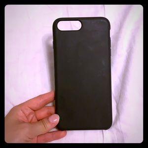 Hey Day iPhone 8 Plus case in dark grey